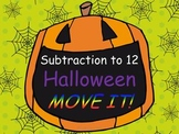 Halloween Subtraction Facts to 12 MOVE IT!