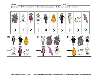 Halloween Subtraction with Renaming