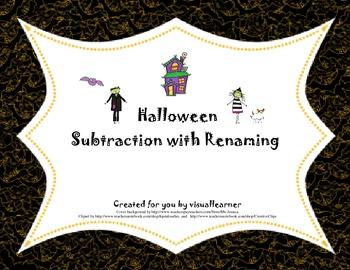 Halloween Subtraction with Renaming