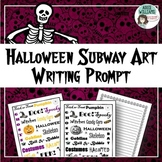 Halloween Writing / Poetry Prompt - FREE