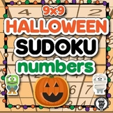 Sudoku Math Activity Level 3 - Halloween