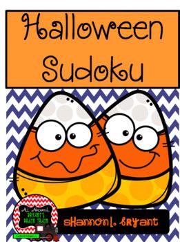 Halloween Sudoku Puzzles