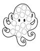 Halloween Summer Spring Spider Web Octopus Option Cut Paste Sight Words Bugs 7pg