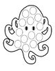 Halloween Summer Spring Spider Web Octopus Option Cut Past