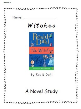 Halloween Super Pack: {Comprehension Activities + Witches Novel Study}