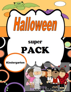 Halloween Super Pack! Writing, Math, and L.Arts Activities For October