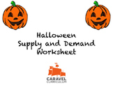 Halloween Supply and Demand Worksheet