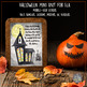 Halloween Lessons for Middle/High School English, Bundled Mini Unit