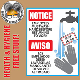 Health and Hygiene Clipart for Classroom and Commercial Use