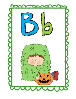 Halloween Switch-a-Roo; A fun letter recognition movement game