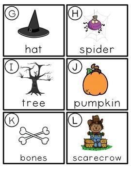 Halloween Syllable Center