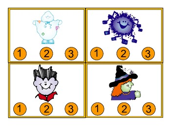 Halloween Syllable Count