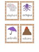 Halloween Syllable Sorting Game