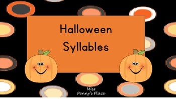 Halloween Syllables