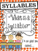 Halloween Syllables: Differentiated Phonological Awareness Activities