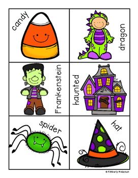 Halloween: Syllables Sort Practice