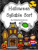 Halloween: Syllables Sort Practice