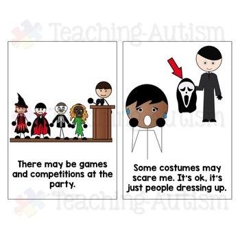 Social Story - Halloween