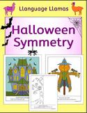 Halloween Symmetry - NO PREP Fun Geometry Activities