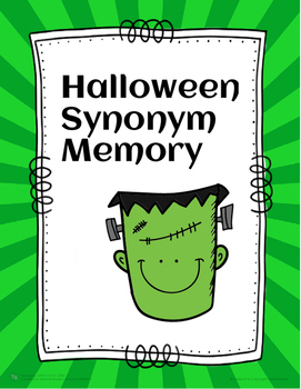 Halloween Synonym Memory