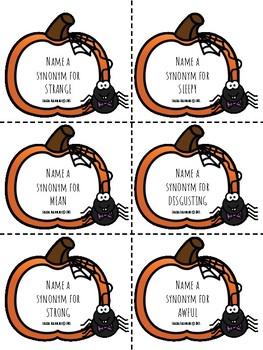 Halloween Synonyms & Antonyms