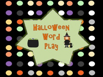 Halloween Synonyms, Antonyms, and Figurative Language.