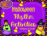 Halloween Ta, Ti-ti, & Ti-ri-ti-ri Rhythm Activities
