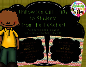 (FREE) Halloween Editable Gift Tags