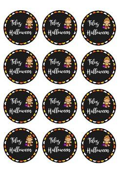 Halloween Tags   Etiquetas Halloween