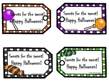 Halloween Tags: For Ghosties, Goblins, and Ghouls