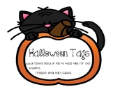 Halloween Tags Freebie