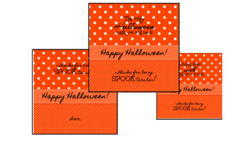 Halloween Tags: Witches Brew and Halloween Mask (plus a FREEBIE)