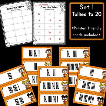 Halloween Math: Tallies Write the Rooms!