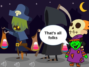 Halloween Tally, Frequency and Mode PP FUN ANIMATION - WITCH'S SPELL