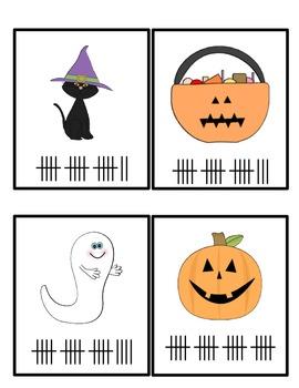Halloween Tally Mark Center