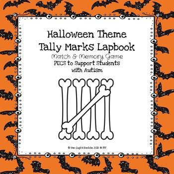 HalloweenTheme Tally Marks Lapbook