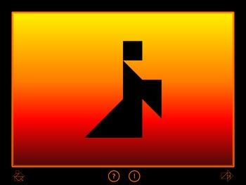 Halloween Tangram Game - Interactive PowerPoint / PPT