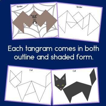 Halloween Tangrams