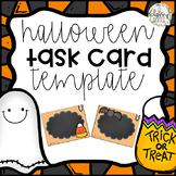 Halloween Task Card Template (Editable!)