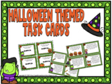 Halloween Task Cards: 4th Grade Math Skills