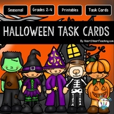 Halloween Task Cards - Halloween Activities -Fall Activiti