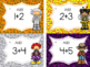 Halloween Task Cards: Addition and Subtraction 1-10