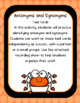 Halloween Task Cards Antonyms and Synonyms