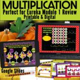 Halloween Task Cards Eureka Module 1 Multiplication - Virt