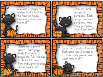 Halloween Task Cards {Freebie!}