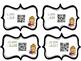 Halloween Task Cards Subtracting Across Zeros with QR Scan
