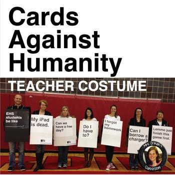 Halloween Teacher Costume Cards Against Humanity