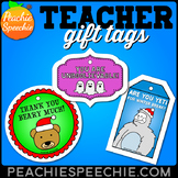 Teacher Gift Tags by Peachie Speechie