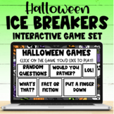 Halloween Team Building Games - Perfect for Distance or In Person Learning!