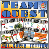 Halloween Team Quest - Team Building Activity for Middle School